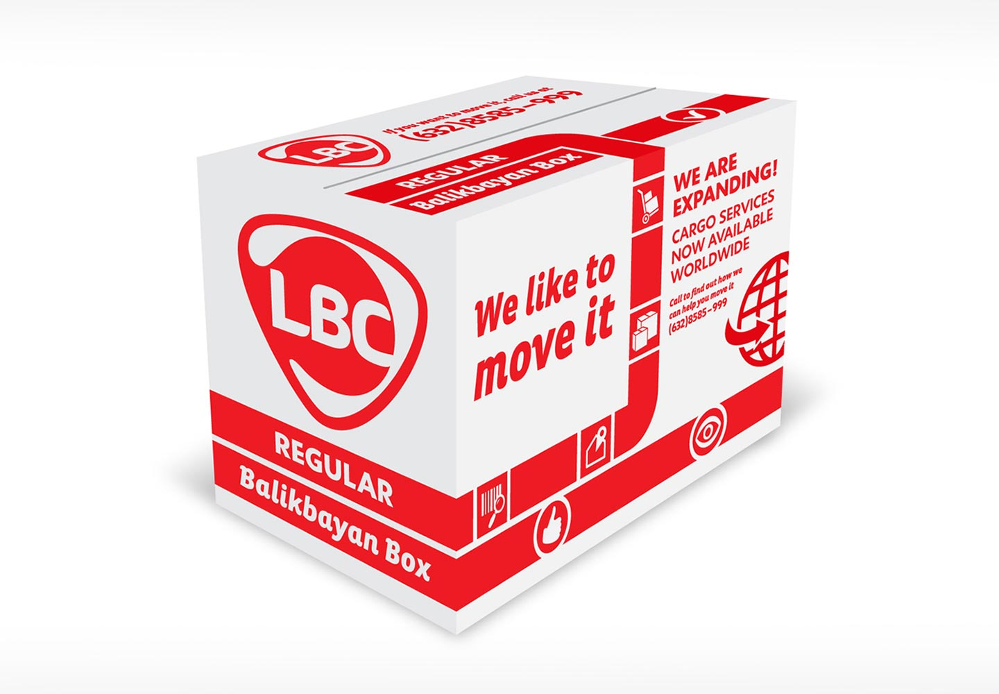 Brand Consultancy in Logistics Industry. Packaging design for LBC.